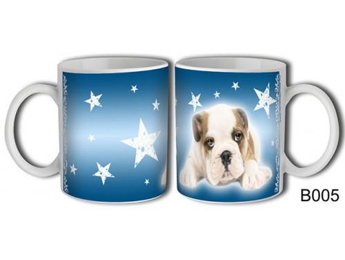 (B005) Bögre 3 dl - Bulldog – Kutyás ajándék