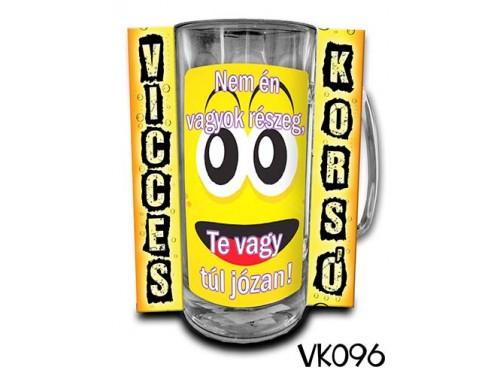 (VK096) Vicces Korsó 0,33 L - Nem én vagyok részeg te.., – Vicces Ajándék