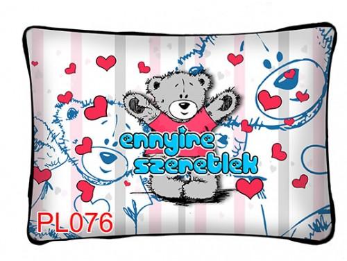 (PL076) Párna 37 cm x 27 cm - Ennyire szeretlek - Szerelmes Ajándékok