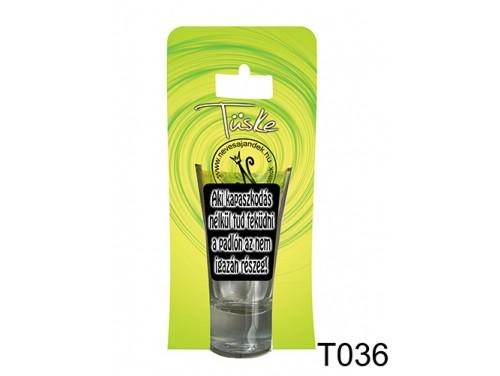 (T036) Vicces Pálinkás pohár 0,75 ml - Aki kapaszkodás nélkül tud feküdni a padlón... - Vicces Ajándékok