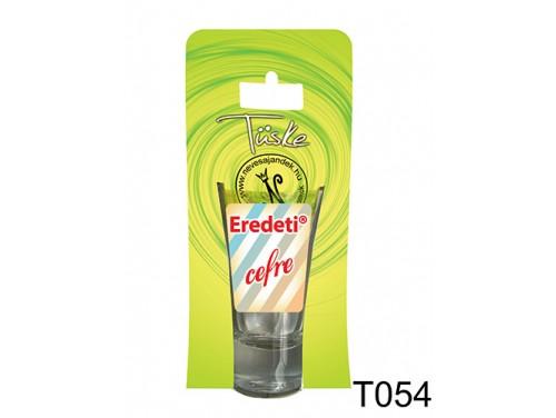 (T054) Vicces Pálinkás pohár 0,75 ml - Eredeti cefre - Vicces Ajándékok