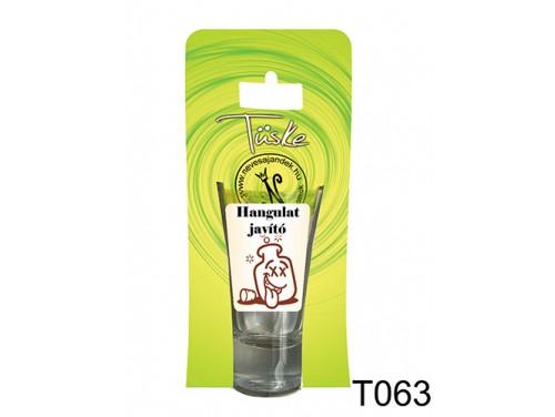 (T063) Vicces Pálinkás pohár 0,75 ml - Hangulat javító - Vicces Ajándékok
