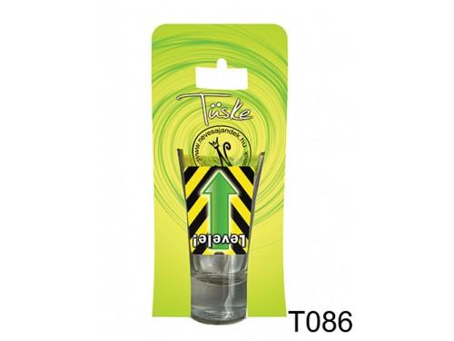 (T086) Vicces Pálinkás pohár 0,75 ml - Levele! - Vicces Ajándékok