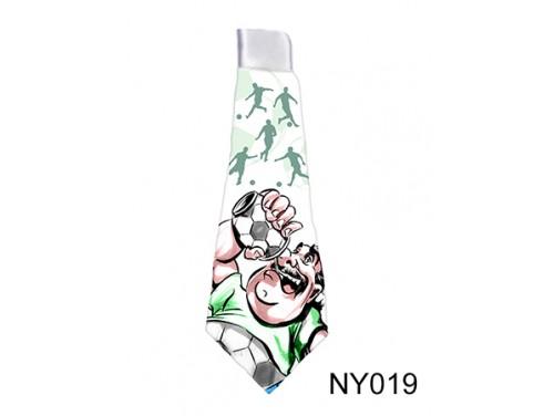 (NY019) Nyakkendő 37 cm x 13 cm - Foci - Focis ajándékok