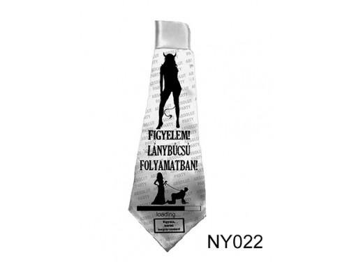 (NY022) Nyakkendő 37 cm x 13 cm - Lánybúcsú folyamatban  – Lánybúcsús Ajándékok