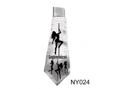 (NY024) Nyakkendő 37 cm x 13 cm - Legénybúcsú - Legénybúcsús Ajándékok
