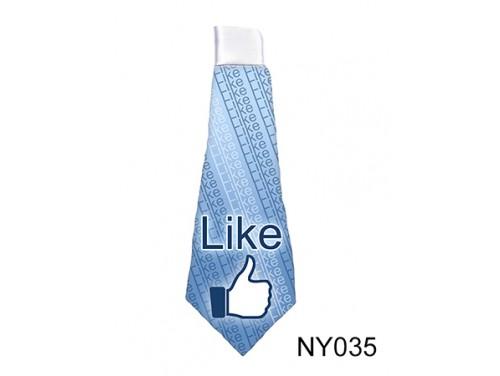 (NY035) Nyakkendő 37 cm x 13 cm - Like - Vicces Ajándékok