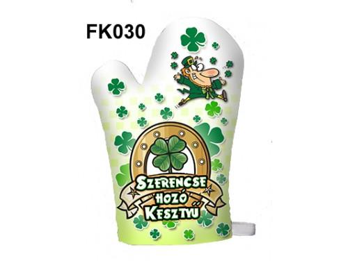 (FK030) Főzőkesztyű 16 cm x 26 cm - Szerencse hozó kesztyű - Ajándék ötletek