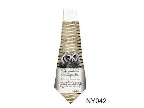 (NY042) Nyakkendő 37 cm x 13 cm - Sok szeretettel, Ballagásodra - Ballagási Ajándékok