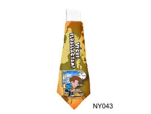 (NY043) Nyakkendő 37 cm x 13 cm - Végre elballagtam - Ballagási Ajándékok