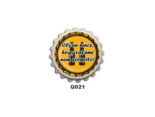 (Q021) Kupak mágnes 8 cm - Olyan nincs hogy – Ivós Ajándékok