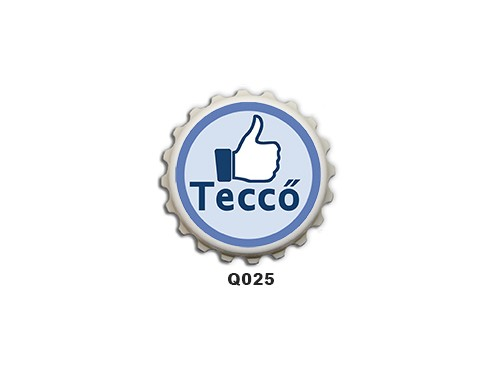 (Q025) Kupak mágnes 8 cm - Teccő  – Vicces Ajándékok
