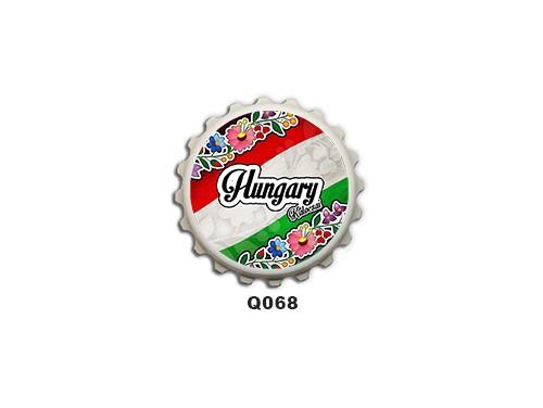 (Q068) Kupak mágnes 8 cm - Kalocsai hungary – Magyaros Ajándékok