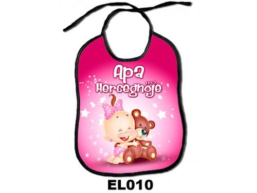 (EL010) Előke 26 cm x 32,5 cm - Apa hercegnője – Ajándék kisbabáknak