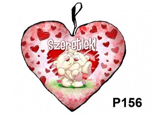 (P156) Párna Nagy Szív 45cm - Pimi ölben – Szerelmes Ajándékok