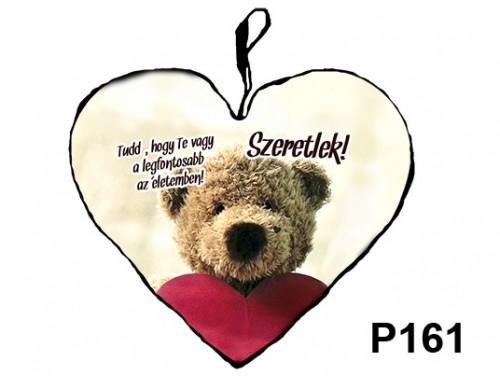 (P161) Párna Nagy Szív 45cm - Te vagy a legfontosabb – Szerelmes Ajándékok