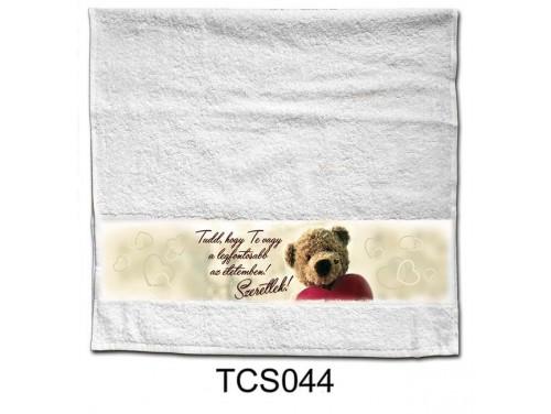 (TCS044) Törölköző 90 cm x 48 cm - Te vagy a legfontosabb – Szerelmes Ajándékok