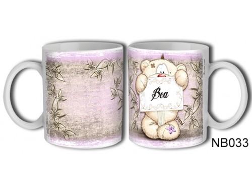 (NB033) Bögre 3 dl - Bea – Névre Szóló Ajándék – Névnapi ajándékok