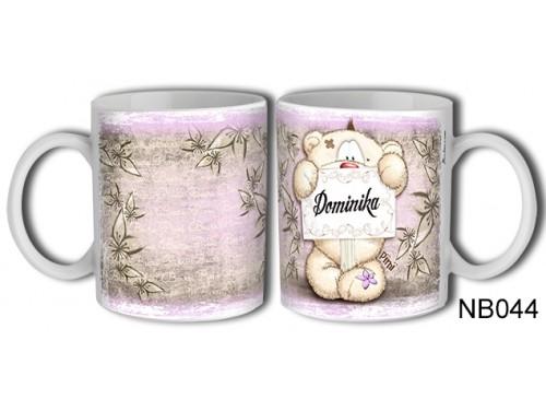 (NB044) Bögre 3 dl - Dominika – Névre Szóló Ajándék – Névnapi ajándékok