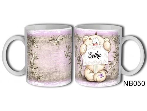 (NB050) Bögre 3 dl - Erika – Névre Szóló Ajándék – Névnapi ajándékok