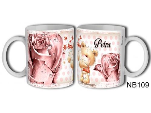 (NB109) Bögre 3 dl - Petra – Névre Szóló Ajándék – Névnapi ajándékok