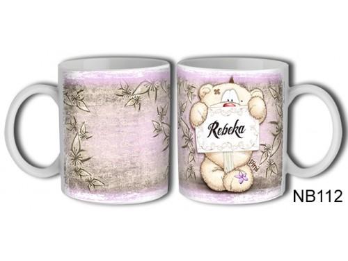 (NB112) Bögre 3 dl - Rebeka – Névre Szóló Ajándék – Névnapi ajándékok