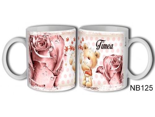 (NB125) Bögre 3 dl - Tímea – Névre Szóló Ajándék – Névnapi ajándékok