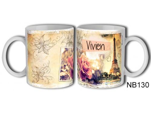 (NB130) Bögre 3 dl - Vivien – Névre Szóló Ajándék – Névnapi ajándékok