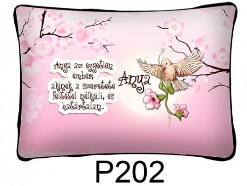 (P202) Párna 37 cm x 27 cm -  Anya az egyetlen - Ajándék anyukáknak - Anyák Napi Ajándékok
