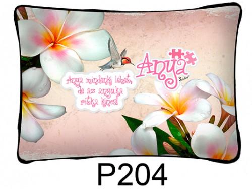 (P204) Párna 37 cm x 27 cm -  Anya mindenki lehet - Ajándék anyukáknak - Anyák Napi Ajándékok