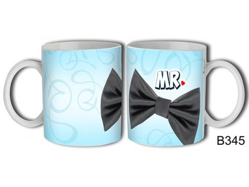 (B345) Bögre 3 dl - MR csokor - Vicces ajándékok - Ajándék esküvőre