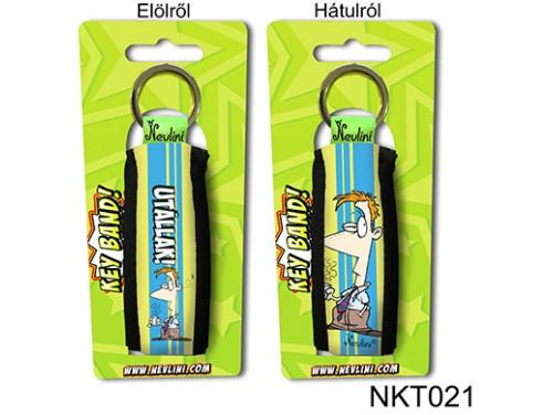 (NKT021) Kulcstartó 10 cm x 3,8 cm - Utállak! - Szerelmes Ajándékok