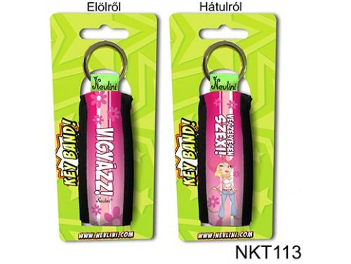 (NKT113) Kulcstartó 10 cm x 3,8 cm - Veszélyesen szexi! - Vicces Ajándékok