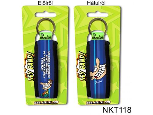 (NKT118) Kulcstartó 10 cm x 3,8 cm - Sok káros szenvedély... - Vicces Ajándékok