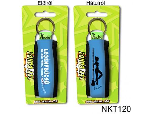 (NKT120) Kulcstartó 10 cm x 3,8 cm - Legénybúcsú - Legénybúcsús Ajándékok