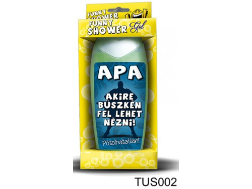(TUS002) Tusfürdő 300 ml - Apa - Ajándék Apának