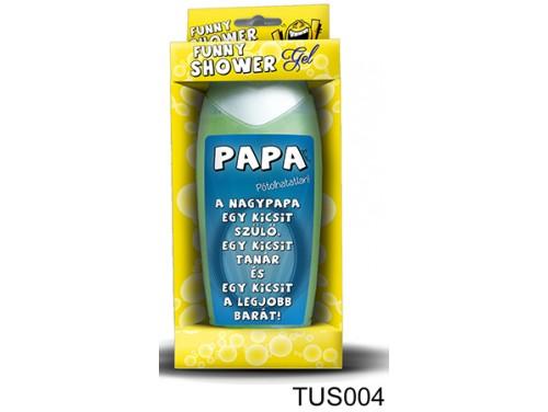 (TUS004) Tusfürdő 300 ml - Papa - Ajándékok Nagypapáknak