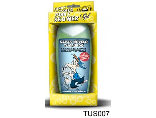 (TUS007) Tusfürdő 300 ml - Kapás növelő tusfürdő - Ajándék Horgászoknak