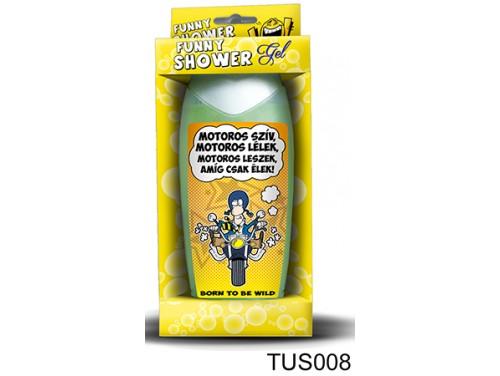 (TUS008) Tusfürdő 300 ml - Motoros szív... - Motoros Ajándékok
