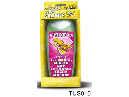 (TUS010) Tusfürdő 300 ml - Szuperhősnőknek! - Ajándék Nőknek