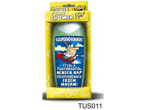 (TUS011) Tusfürdő 300 ml - Szuperhősöknek! - Ajándék Férfiaknak