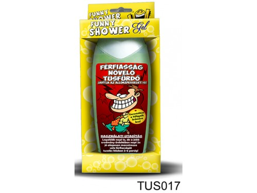 (TUS017) Tusfürdő 300 ml - Férfiasság növelő tusfürdő - Ajándék férfiaknak