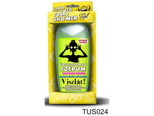 (TUS024) Tusfürdő 300 ml - Öregedésgátló szérum - Ajándék Nőknek - Vicces ajándékok