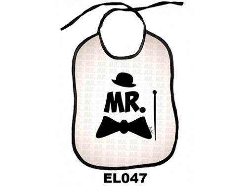 (EL047) Előke 26 cm x 32,5 cm - MR. – Vicces Ajándék