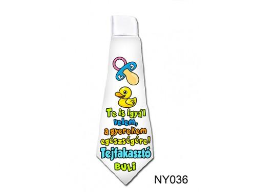 (NY036) Nyakkendő 37 cm x 13 cm - Tejfakasztó - Tejfakasztó Ajándékok