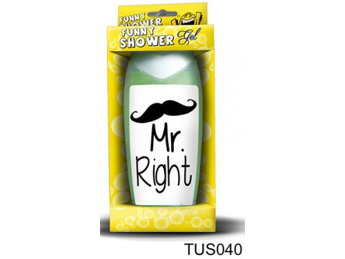 (TUS040) Tusfürdő 300 ml - Mr. Right - Ajándék férfiaknak