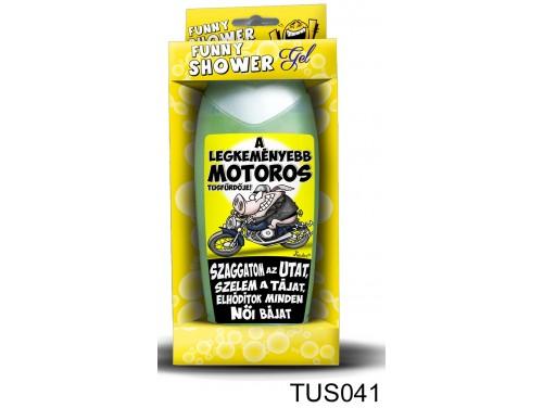(TUS041) Tusfürdő 300 ml - A legkeményebb motoros - Motoros Ajándékok