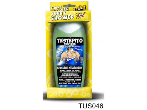 (TUS046) Tusfürdő 300 ml - Testépítő tusfürdő - Kondis Ajándékok