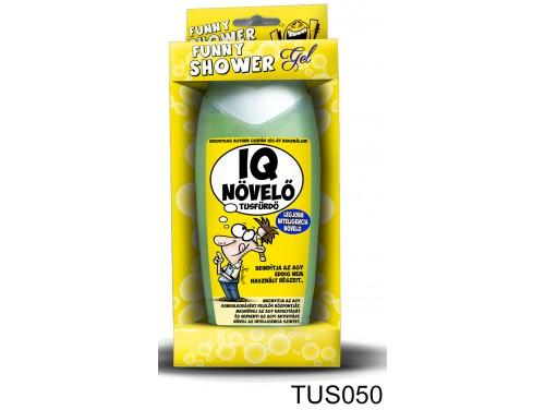 (TUS050) Tusfürdő 300 ml - IQ növelő tusfürdő - Vicces Ajándékok