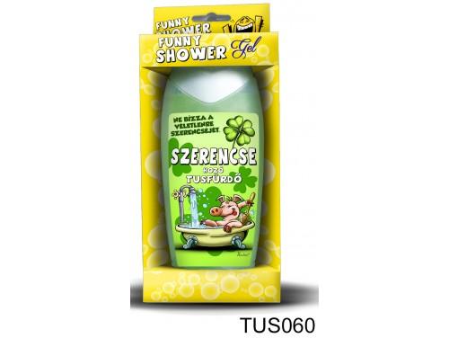 (TUS060) Tusfürdő 300 ml - Szerencse tusfürdő - Vicces Ajándékok